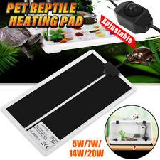 Pet Electric Adjustable Heat Reptile Lizard Heating Mat Warmer Blanket 35°C Pad