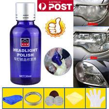 Pro Car Headlight Lens Restoration Kit Restorer System Polishing Tool 1set LG