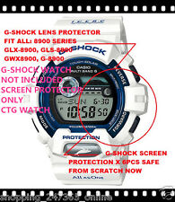 G-SHOCK GWX8902K SCREEN PROTECTOR X 6 OK G8900 GLX8900 GR8900 LOVE THE SEA ICERC