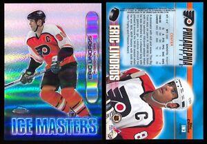 1999-00 Topps Chrome Ice Masters Refractor #IM3 Eric Lindros Philadelphia Flyers