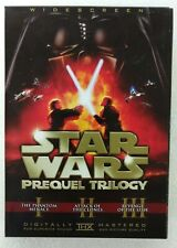 Star Wars Prequel Trilogy (Dvd,2008, 6-Disc Set, Widescreen) Excellent Condition