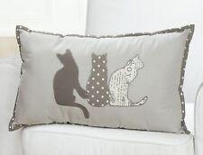 Zierkissen Dekokissen Katze Triple Textil Kissen 50 X 30 X 10 Cm Merken
