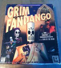 "*RARE*  NEW ""GRIM FANDANGO"" LucasArts PC Windows 95/98  STILL FACTORY SEALED BOX"