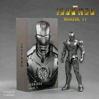 "ZD TOYS Iron Man MK 2 Mark II 7"" Action Figure Marvel Legends Model Toy"