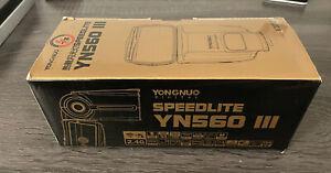 Yongnuo Digital SpeedLite Flash YN560 111 / V2018 / 2.4G / Black