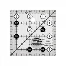 Creative Grids Quilt Ruler 3-1/2in Square # CGR3