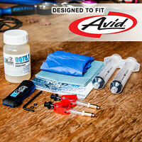 BRR Brake Bleed Kit for Avid Hydraulic Brakes  - Juicy, Elixir, Code,R, XO,XX