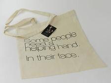 The Fashion rEvolution Sac en toile de jute CERTAINS PERSONNES BESOIN A HELPING
