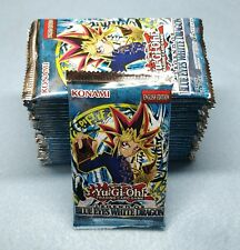 English Yugioh Legend of Blue Eyes 24 Booster Packs = Box Sealed Unsearched LOB