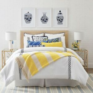 One Kings Lane Open House™ Watchill 3-Piece Full/Queen Quilt Set in Navy/White