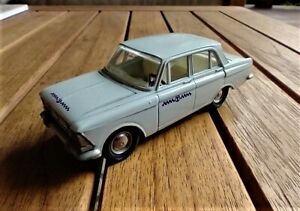 """1:43 Moskvitch 427 A4 Novoexport USSR box """"Telecom"""""""