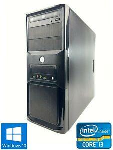 Custom MT - 250GB HDD, Intel Core i3-3220, 4GB RAM - Win 10 Pro