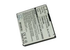 3.7V battery for HTC Touch Pro HD, T8282, Touch HD, T8285, BLAC100 Li-ion NEW