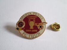 a4 THUN - SPARTA PRAHA cup uefa champions league 2006 spilla football pins