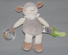 Doudou Mots d'Enfants Vache mouton  marron d'Activités  Neuf