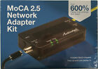 Actiontec - ECB6250 - Black - 2 Pack MoCA 2.5 Network Adapter Kit - New!!!