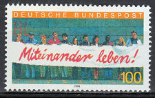 Germany 1994 Mi 1725 Sc 1827  MNH** Foreigners in Germany.