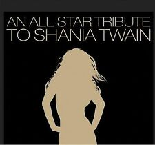 All Star Tribute to Shania Twain CD NEW  Wanda Jackson Doobie Bro small seal rip