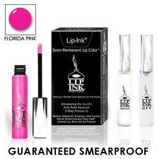 LIP-INK® LipGel Lipstick Mini Kit FLORIDA PINK Semi Permanent VEGAN KOSHER
