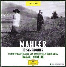 Rafael KUBELIK: MAHLER Symphony 1 2 3 4 5 6 7 8 9 10 Adagio Bayerischen 10CD NEU