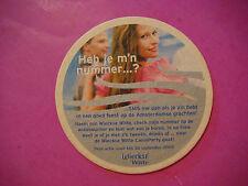 Beer Coaster ~ 2003 Heineken Nederland WIECKSE Witte ~ Zoeterwoude, Netherlands