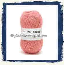 10 Pelotes de laine STRASS LIGHT 25 G OEILLET neuves