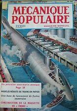 Zeitschrift Mechanics Volksrepublik Nr. 152 unter Marin Rakete Alaska °+ Chebec
