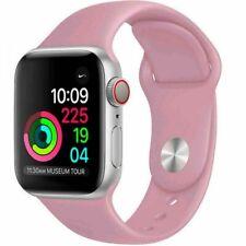 Correa deportiva Pulsera para Apple Watch 38/40 42/44 Correa de silicona suave