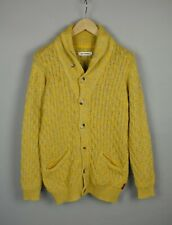 BEN SHERMAN STYLE: ME10089 Men's LARGE Cable Knitted Cardigan / Sweater 20296_JL