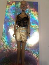 """AA fashion doll. 11.5"""" VINTAGE. Ginger Spice Girl. Hair short or for reroot?"""