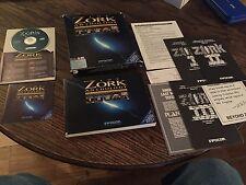 Zork Anthology IBM Mac Big Box CD Game Old PC1