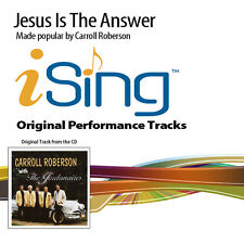 Carroll Roberson - Jesus Is the Answer - Accompaniment Track