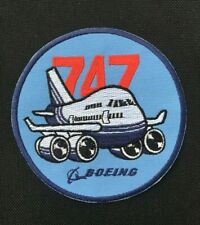 BOEING 747 PATCH AIRPLANE AIR PLANE BOEING 747 JUMBO JET PATCH