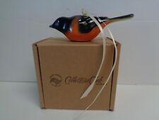 Longaberger Collectors Club Backyard Bird Collection Oriole Ornament Nib