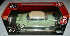1953 Hudson Hornet Club Coupe 1:18 Die Cast Car Mint White Top Metal Auto New