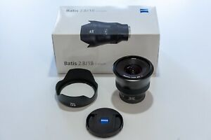 ZEISS Batis 18mm f/2.8 Lens for Sony E Mount - Immaculate Condition