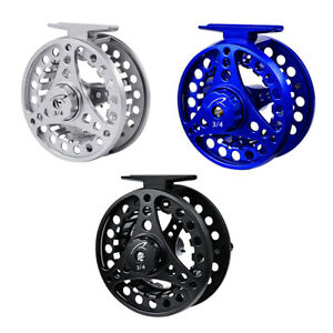 Fly Fishing Reel 3/4 5/6 7/8WT Large Arbor Light Saltwater Aluminum Alloy Wheel