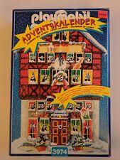 Playmobil 3974 Advent Calendar II Santa's Elves Workshop 1997 Incomplete