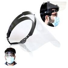 Safety Visor Face Shield with Liftable Visor Reusable PPE Shield Full Face Visor
