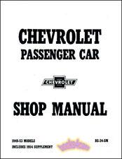 SHOP MANUAL SERVICE REPAIR CHEVROLET BOOK BELAIR FACTORY WORKSHOP