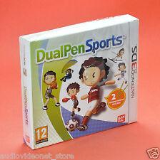 DUAL PEN SPORTS NINTENDO 3DS DS 3D CON 2 PENNINI in italiano