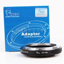 Camera Macro Adapter For Canon FD Lens To Nikon D750 D810 D4S D3300 Df D5300 D90