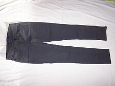 MILEY CYRUS Ladies Stretch Gray Jeans zip on sides of legs Size 3 (14x28 1/4)