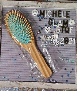 Sugarbearhair Bamboo Hair Brush BRAND NEW UNOPENED