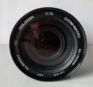 Soligor 60-300 mm 1:4-5,6 Ø 67mm MC Zoom + Macro Pentax