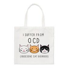 I Suffer von Obsessive Katze Störung O. C.D kleine Beutel - Crazy Cat Lady