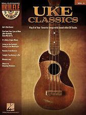 Ukulele Playalong UKE CLASSIC SONGS Sheet Music Book & Backing Tracks CD