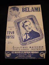 Partitur Bel Ami Tino Rossi Mackeben Poterat Music -blatt