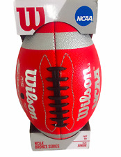 Wilson Football Ncaa Bronze Series Junior Age 9+ New In Box