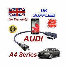 AUDI A4 Series 4F0051510M Cable For LG Optimus G MICRO USB Audio connection